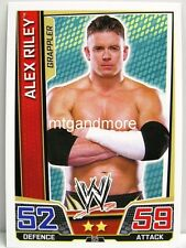 Slam Attax Superstars - #050 Alex Riley