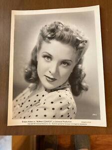 "EVELYN ANKERS IN ""BURMA CONVOY"" 1941 UNIVERSAL-STILL PHOTO"