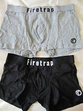 Firetrap Mens 2 Pack Trunks, Size L