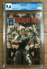 Resident Evil #1 1996 Capcom Marvel Comics Bill Sienkiewicz CGC 9.6 2090329023