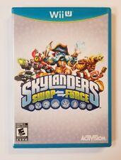 ☆ SKYLANDERS SWAP FORCE GAME W/ CASE ☆ Wii U ☆ FAST FREE SHIPPING ☆ (2013)