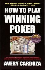 How to Play Winning Poker - by Avery Cardoza Book