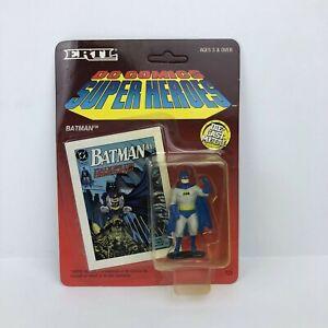 Vintage Ertl 1990 DC Comics Super Heroes Diecast Batman Figure Unpunched New