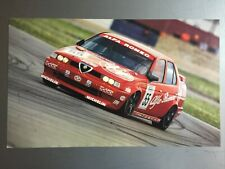 1995 Alfa Romeo Coupe Race Car Picture, Print Poster, RARE Awesome L@@K