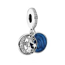 100% Authentic PANDORA 'Vintage Night Sky' Dangle Charm with S.Silver 791993CZ