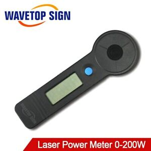 Upgraded High Accuracy Handheld CO2 Laser Tube Power Meter 0-200W