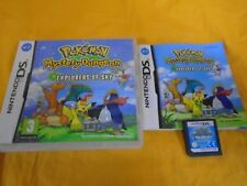 ds POKEMON MYSTERY DUNGEON Explorers Of Sky *x Lite DSI 3DS PAL UK VERSION