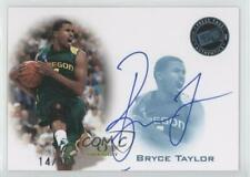2008 Press Pass Signings Green /25 Bryce Taylor #PPS-BT Auto