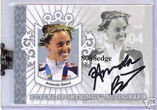2007 SPORT KINGS AUTO SILVER: AMANDA BEARD /99 AUTOGRAPH OLYMPIC CHAMPION GOLD