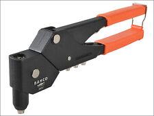 BAHCO 360° Swivel Head Pop Rivet Riveter Gun & 2.4, 3.2, 4.0 or 4.8mm Heads 2681