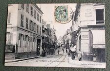 CPA. MELUN. 77 - Rue Saint Aspais. 1906. Cycles. Siège Société Vélocipédique.