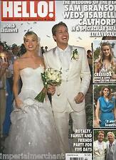 Hello magazine Sam Branson Isabella Calthorpe wedding Kate Middleton