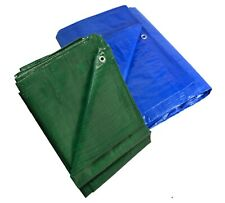 More details for tarpaulin sheets : sizes 2m x 3m upto 8m x 10m in blue or green (see listing)
