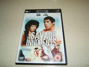 THE SAVAGE INNOCENTS  : ANTHONY QUINN  REGION 2 DVD