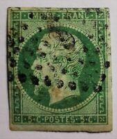 MARCOPHILIE-Empire non dent N° 12 ,(TB 1198-2) oblit Cad (RR), Obli.Gros.Cote
