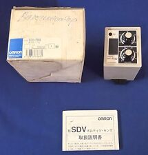 Omron SDV-FH6-AC100/110V VOLTAGE SENSOR NEW UNUSED