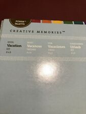 Creative Memories 8x8 Jewel Vacation Power Palette Kit - Scrapbook / Card