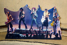 "Alice Cooper Rock & Roll Band Tabletop Standee 10 1/2"" Long"