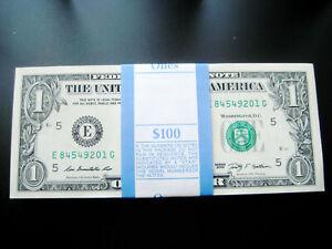 (100) $1 2009 (((RICHMOND)))FEDERAL RESERVE CHOICE UNC GEM BU NOTE