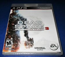 Dead Space 3 -- Limited Edition Sony PlayStation 3 *Factory Sealed! *Free Ship!