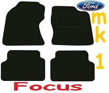 Ford Focus Tailored car mats ** Deluxe Quality ** 2004 2003 2002 2001 2000 1999