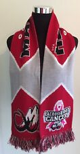 COLORADO MAMMOTH Lacrosse Scarf ~CROSS OUT CANCER