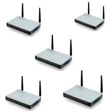 5 x LANCOM L-54g Wireless Access Point 2,4 GHz DSL Router L-54 g
