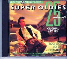 (EI850) Super Oldies 1, 25 tracks various artists - 1988 CD