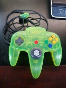 Nintendo 64 N64 Jungle Green Funtastic Clear Controller - Official OEM Genuine