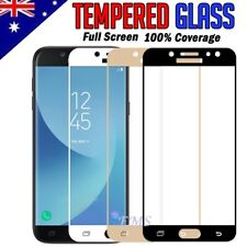 Full Coverage Tempered Glass Screen Protector Samsung Galaxy J5 J7 Pro 2017 J8