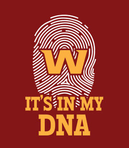 Washington Football Team It's In My DNA shirt McLaurin Chase Young Allen WFT its