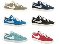 Scarpe Nike Blazer basse low Vintage estate 2013 Blu Grigie ecc.. uomo donna DD3