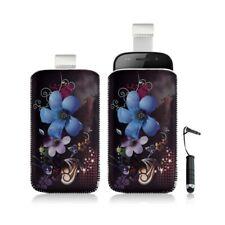 Housse coque étui pochette pour Samsung Google Nexus S i9020 avec motif + stylet