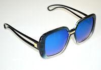 Gafas de sol mujer AZULES rectangulares lentes óculos de sol sunglasses BB16