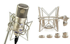 Shock Mount - Microphone Holder - Mic Clip For Neumann D-01 Premium Quality +