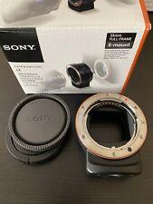 Sony LA-EA3 - Adattatore Mirrorless Full-Frame da Attacco A ad Attacco E