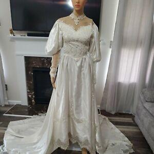Vintage Wedding Dress XS