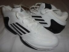P New Adidas Q32698 SMU ADIZERO CRAZY LIGHT Basketball Shoes WHT/BLK SZ 18  ANB