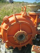 WARMAN ASH WEIR SLURRY PUMPS STAINLESS INNERS 6/4 RATED 300HP