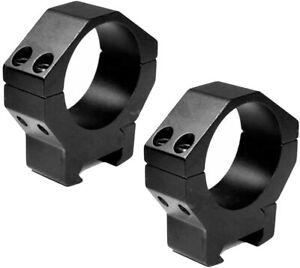 ohhunt 2pcs 34mm Aluminum Low Rifle Scope Rings Mount Fit 20mm Picatinny Rail
