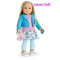 AMERICAN GIRL TRULY ME 27 Doll Layered Blond Hair Blue Eyes NEW WITH ACCESSORIES