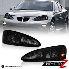 2004-2008 Pontiac Grand Prix [Sinister Black] Factory Style Headlights GXP GTP