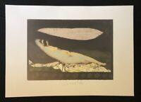 Strawalde, ohne Titel, Schlummernde Venus, Farboffsetdruck, 1997, handsigniert