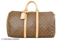 Louis Vuitton Monogram Keepall 50 Travel Bag M41426 - YG01431