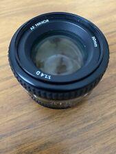 Nikon AF Nikkor 50mm 1.4D