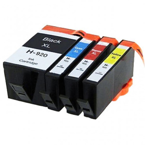 5X Generic 920XL 920 Ink Cartridge For HP Officejet 6000 6500 7000 6500A 7500A