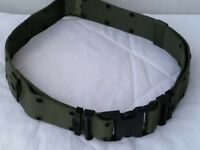 New Individual Equipment Pistol / Web Belt - OD Green - Large - US Military LC2