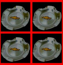 4pc Chavy Wheel Center Cap SILVERADO TAHOE SUBURBAN AVALANCHE 2007-2013 POLISHED