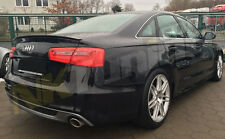 Audi A6 C7 Saloon - Boot Spoiler