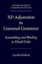 XP-ADJUNCTION IN UNIVERSAL GRAMMAR: SCRAMBLING AND BINDING IN HINDU-URDU., Kidwa